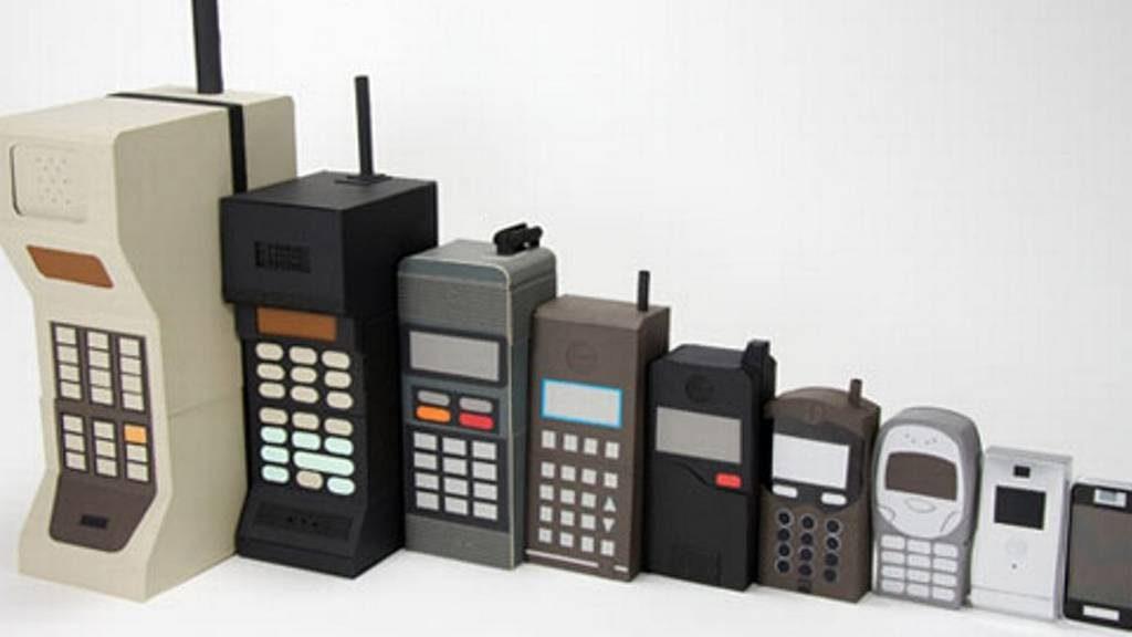 La gran historia de los teléfonos celulares