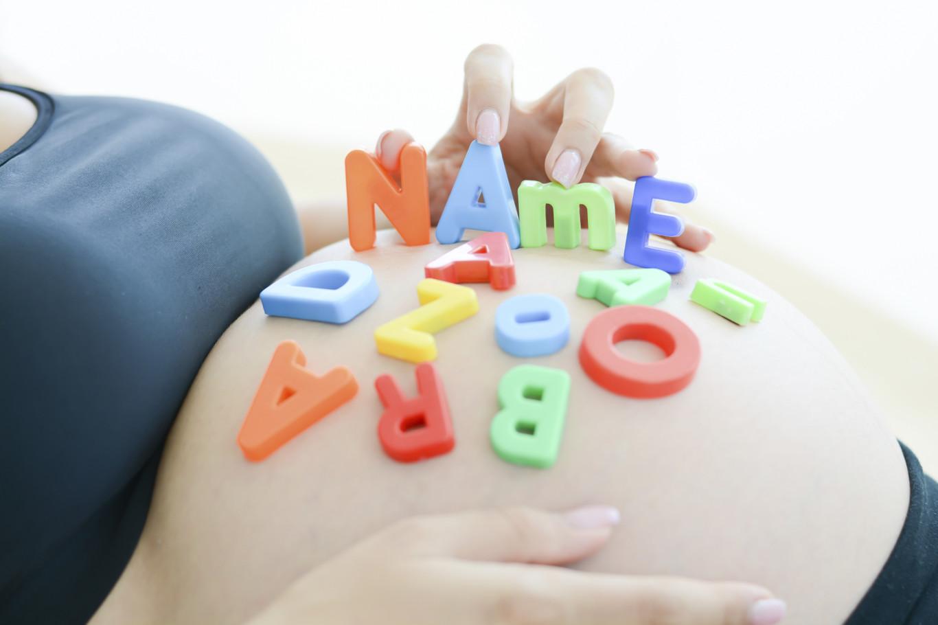Los nombres de los bebés se convierten en tendencia