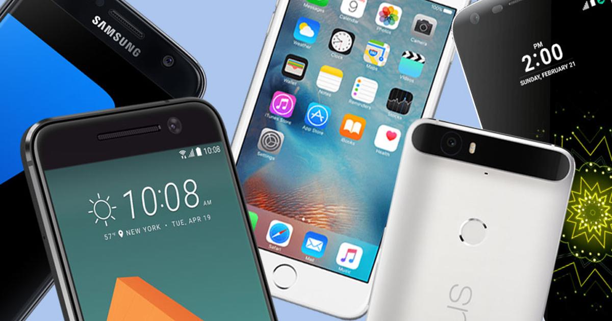 modelos diferentes de celulares
